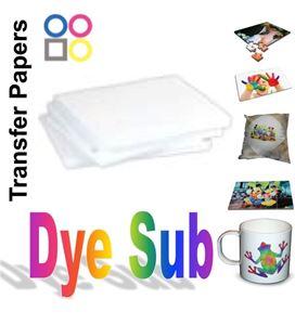 Dye Sublimation Paper 8 5x11 x 500sh
